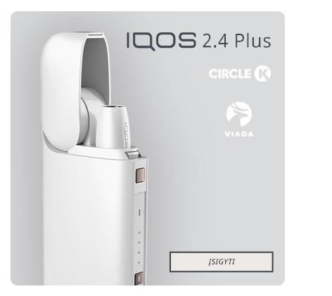 Balta IQOS 2.4 Plus sistema