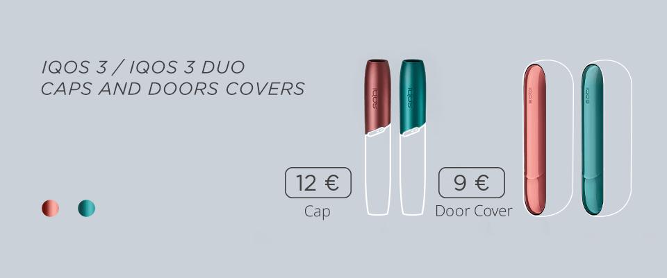 IQOS 3 DUO doors, covers, caps, price, Circle K