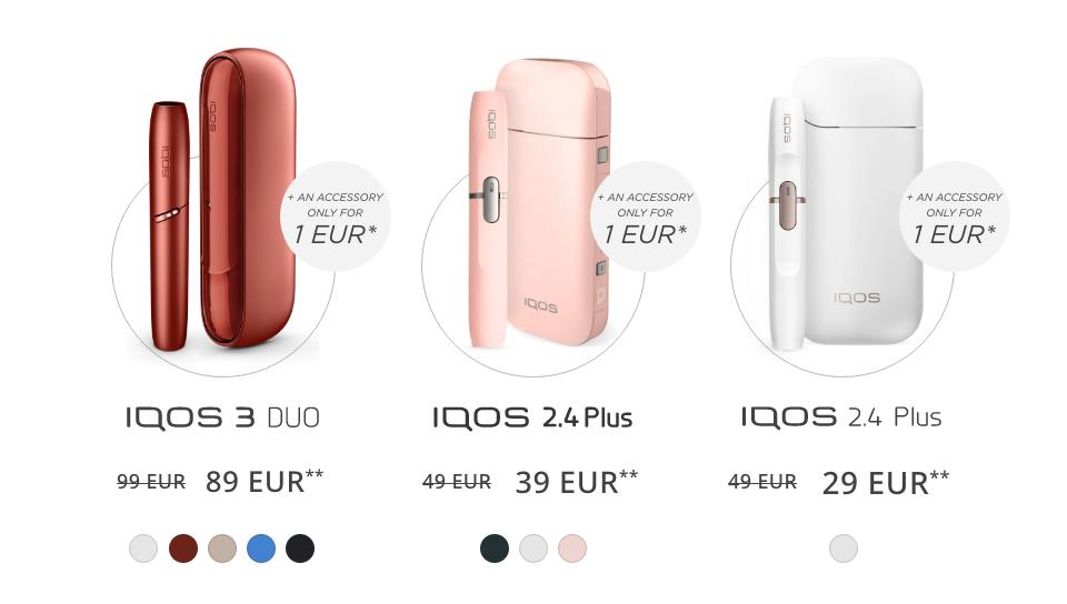 IQOS 3 DUO, 2.4 Plus Pink offer, Renewal_program
