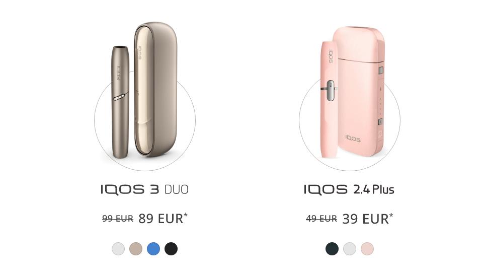 IQOS 3 DUO, 2.4 Plus Pink pasiūlymas, Atsinaujinimo programa