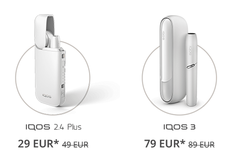 IQOS 3, IQOS 2.4 offer, discount, heating tobacco