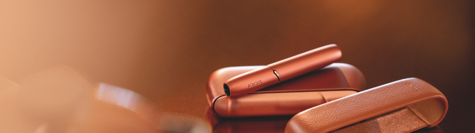 New IQOS 3 DUO, tobacco heating, no smoke, copper